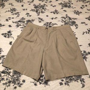 Men's Crazy Horse linen shorts in EUC